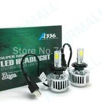 auto headlight replacement - 3 COB H7 Headlight bulb V W LM COB Auto LED car headlamps replacement bulbs led Xenon k H7 H8 H9 H11