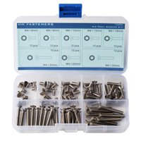 Wholesale M4 Flat Head Torx Screws Assortment Set Stainless Steel Pack of Piece