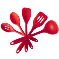 Wholesale Silicone kitchenware nonstick cookware set silicone cooking suit pieces of kitchen supplies