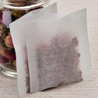 al por mayor venta al por mayor bolsas de té verde-100 55 * 62mm calor sellado bolsa de té bolsa de té bolsa de papel de filtro bolsa de té al por mayor verde