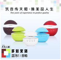 Wholesale VF Round Bluetooth Speaker student style stylish portable circular Bluetooth speaker mushrooms selection of gift Home Creative Business