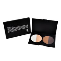 Wholesale 4 Color Pressed Powder Trimming Powder Oil Control Concealer Makeup Powder Cosmetic HighLight Shadow Powder Long lasting