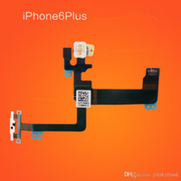 Wholesale 20pcs Power Mute Volume Button Switch Connector Flex Cable Ribbon For iPhone Plus Parts Replacement