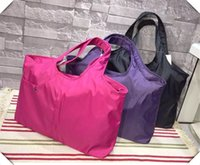 american cloth shops - New Female waterproof nylon Oxford cloth bag women large shoulder hand shopping bag no9