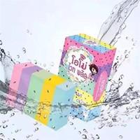 Wholesale Gluta Whitening Soap OMO White Plus Soap Mix Color Plus Five Bleached White Skin Gluta Rainbow Soap