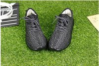 Wholesale Discount YEE BOOST pirate black Running Shoes Trainers Shoes Sports Yee Sport Shoes Men Women Shoes Footwear With Original