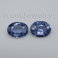 Wholesale Matched Pair Ct Oval Shape x7mm Natural Blue Sapphire Loose Gemstone