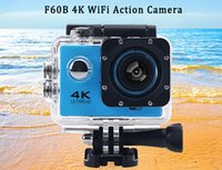 Wholesale 4K WiFi Degree Wide Angle Action Camera inch LCD Screen Loop Cycle Recording Sport Cam DV