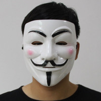anonymous shirt - Halloween Party V Vendetta V word Mask Costume Guy Fawkes Anonymous Halloween Masks Fancy Cosplay SP