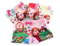 Wholesale Kids Underwear Underpants Children Kids Cotton Briefs Cartoon Cartoon kids Princess Underwear for years kids