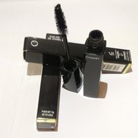 Wholesale brand makeup waterproof mascara longueur ET courbe length and curl mascara noir g comstics