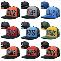 Wholesale 2016 New Arrival Hip Hop Snapback Baseball Caps NY Hats Unisex Sports Women casquette Men Casual headwear