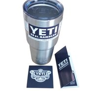 stainless steel mug - Bilayer Stainless Steel Insulation Cup OZ YETI Cups Cars Beer Mug Large Capacity Mug Tumblerful