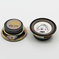 Wholesale ohm W Watt MM Mini Coke Cans Speaker MM External Magnetic Bright hat White Foam Edge