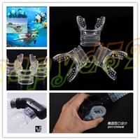 Wholesale hot Safe Silicone diving mouthpiece underwater Diving Dive Tube Snorkel Mouthpiece Regulator Swimming snorkel mouthpiece Accessory