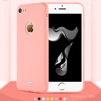 baby soft skin - Case for iphone plus Original Joyroom Cute Soft Baby Skin Touch Macaron Series Candy Color Phone Case