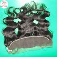 Wholesale Lovely Virgin Peruvian Human Hair Lace Frontal Closure ear to ear quot quot inches Natural Hair Line