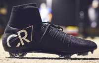 best drop ship - Drop Shipping Accepted Best Discount CR7 New Boots New Ronaldo Black Boots Football boots Soccer Cleats