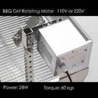bbq spit motor - Rotated Motor for Stainless Steel BBQ Grill Pig Lamb Goat Chicken Spit Roaster Spit Rotisserie