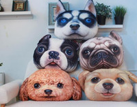 animal print fans - Dog Pillow Sofa Cushion D Printing And Creative Pillow Animals Anime Love Pillow Cat Fan Produced Creative Toy Dog