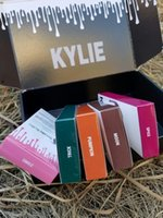 Wholesale 24color Kylie Liquid Lipstick Kit Matte Lip Gloss Kit by Kylie Jenner Lipstick with Lip Liner Pencil Red Velvet Makeup Kylie