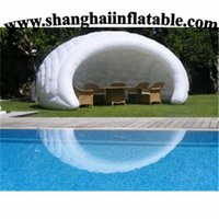 Wholesale dome party tent for event inflatable tent for wedding waterproof canopy tent inflatable tent free CE ULblower