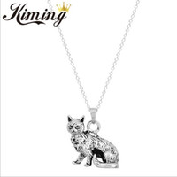 ancient people - 10 Kiming meow star people ancient color restoring ancient ways head necklace pendant animals classic men s and women s accessories