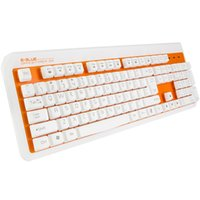 Wholesale E LUE Wired Office Keyboard mechanical backlight