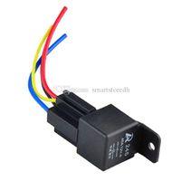 automotive amp - 1Pc V Volt A Auto Automotive Relay Socket Amp Pin Relay Wires M00003 BARD