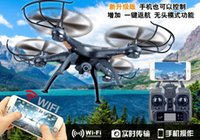 Wholesale SYMA X5SW camera quadcopter FPV WIFI RC Drone Quadcopter With Camera GHZ Axis Real Time Toys