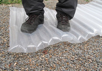 Wholesale WATERPROOF CAMPING TENT MAT SURVIVAL MATTRESS SURPLUS TRANSPARENT BUSHCRAFT