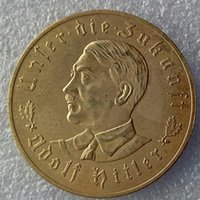 antique gold coins prices - German third Reich Hitler Gold plated copy coins Promotion Cheap Factory Price nice home Accessories Silver Coins