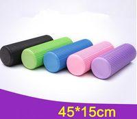 Wholesale Yoga Column High Density Eco Friendly EVA Foam Rollers For Yoga Pilates Home Gym Massage cm Yoga Pillar