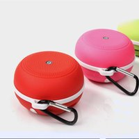 Wholesale Bluetooth Wireless Subwoofer Speaker mp3 bass speaker Newest fashion Mini Portable Sport TF card Stereo system for smart phones PC