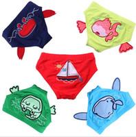 Wholesale Swimsuits For Baby Cartoons - Baby Boy Girl Swimming Trunks Children infant Swimwear Swimsuit For Kids Cartoon Panties Lovely Summer Bathing wear Fashion Swim Diaper