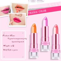 beautiful cups - 2016 Fashion Jelly Warm Lipstick g Color Lipstick for Beautiful Lips Don t Touch The Cup Does Not Fade