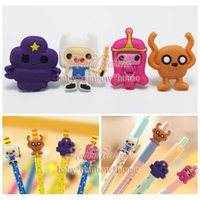 adventure time accessories - Adventure Time Pencil Cap CasePencil Topper Writing Supplies office Stationery Gifts Pencil Accessories Kids Gifts