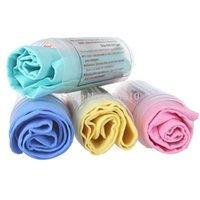 Wholesale PVA Chamois Car Wash Towel Cleaner car Accessories Screen Cleaning Hair Drying Cloth with Tube Random Color order lt no trac