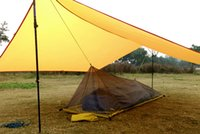 Wholesale 2016 only G Ultralight Outdoor Camping inner Tent Summer Single Person Mesh Tent Body Inner Tent Vents mosquito net