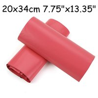 Wholesale PURPLISH RED poly mailers poly envelopes mailing bags express envelopes cmx34cm x