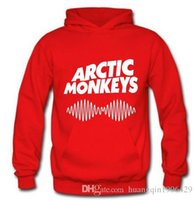 band hoody - Arctic Monkeys Am Logo Soundwave Hooded Top Music Band Rock Punk Pullover Hoody Hoodie Hood Sweat shirt