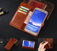 basic notes - Luxury wallet PU LeatherCase for restoring ancient ways hongmi note The basic phone cover hongmi note Flip station capa Coque card