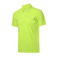 golf ball sleeves - Golf T Shirt Spring Summer Men Quick Drying Outdoor Sport Golf T Shirt Sunscreen Short Sleeve T Shirt Slim Ball Clothes