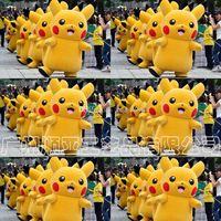 Wholesale Hot sale Pikachu Mascot Costume Fancy Dress Outfit cartoon Poke Cosplay Costumes EMS C1270