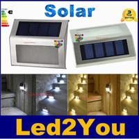 Cheap 30pcs Mini Led Solar Light Outdoor Solar Garden Lights Lamp Waterproof Cold Warm White Stair Lights Indoor LED Sensor Light