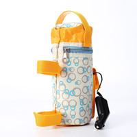 Wholesale 12V Universal Travel Car Food Warmer V Heater Bottle Milk Bottle Wamer Bags Thermal Insulation Baby s Feeding Bottle Heater Travel Bottle