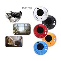 Wholesale ePacket Car Air Purifier Solar Anion Humidifier Ionic air purifier Air cleaner Car Air Freshener Ionizer Oxygen Bar and Eliminator