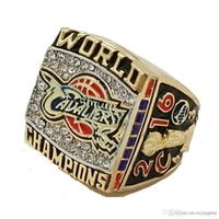 Wholesale 2016 cavaliers National Basketball the Cleveland championship ring copper material VIP James STR0