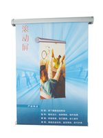 Wholesale China suppliers Cheap advertising pull up banner stand