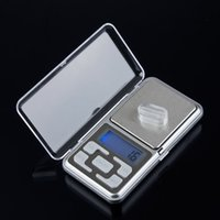 Wholesale Electronic LCD Display scale Mini Pocket Digital Scale g g g g Weighing Scale Weight Scales Balance